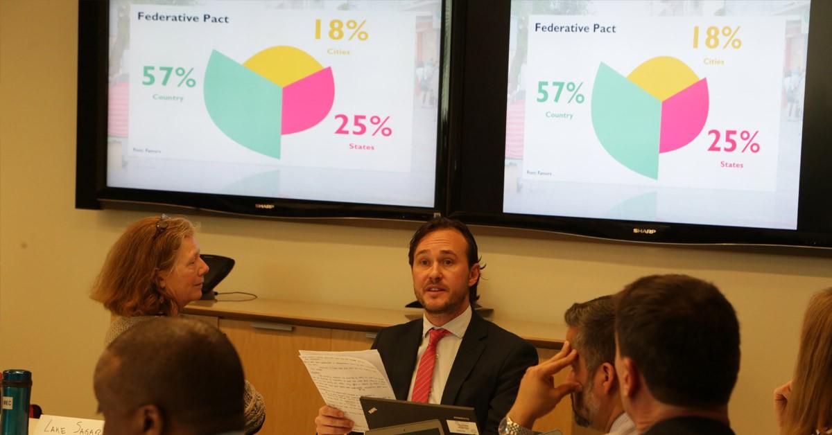 Deputado Vinicius fala sobre Transporte Sustentável focado nas pessoas em conferência da ONU