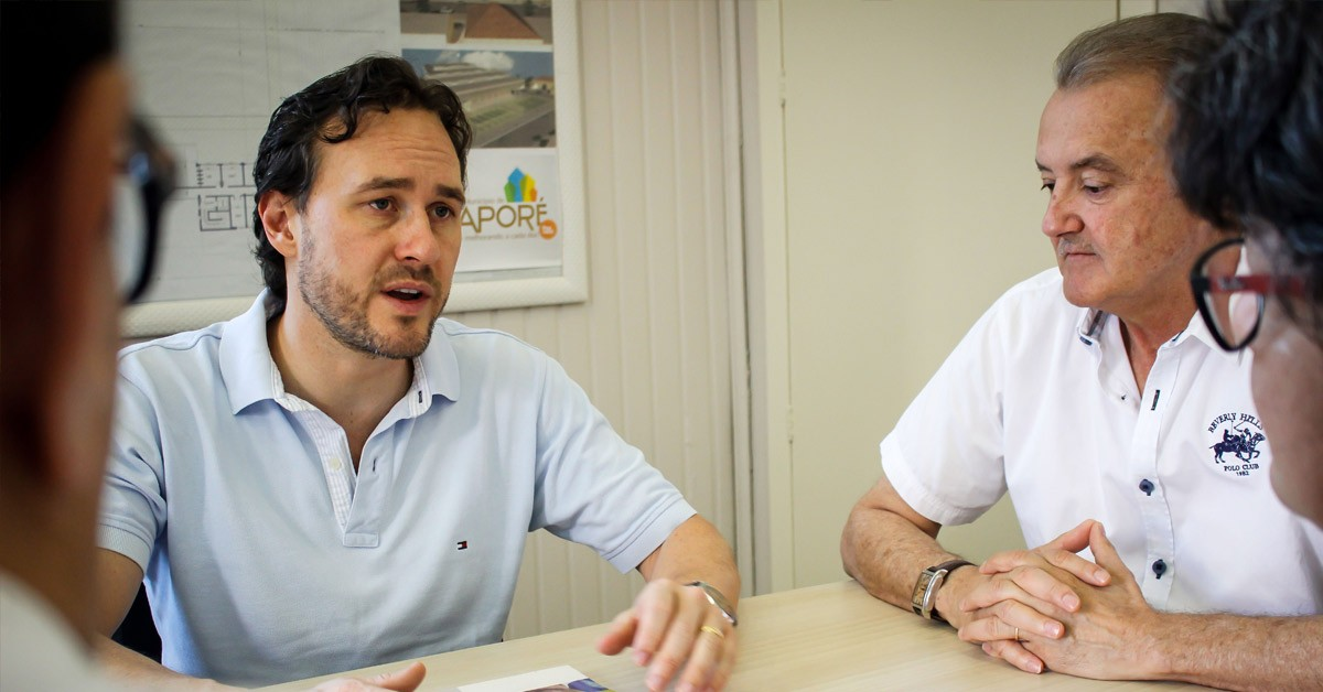 Deputado Vinicius Ribeiro avança em demandas de Guaporé