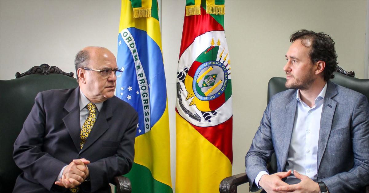Deputado Vinicius Ribeiro cobra ações práticas na área da segurança em Caxias do Sul