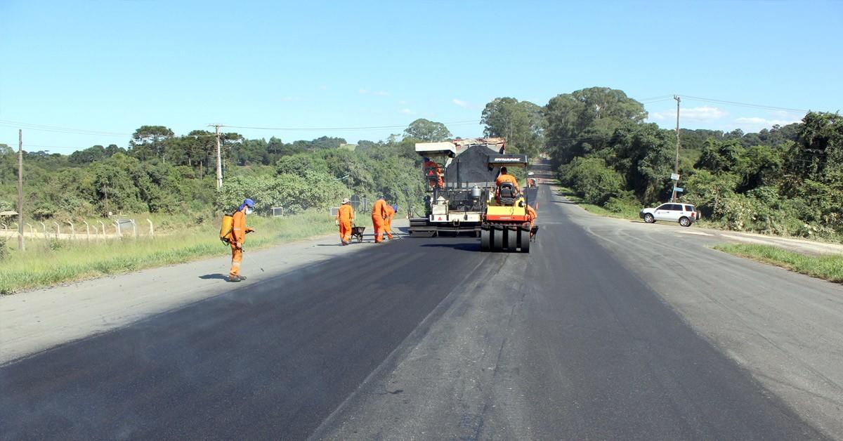 Manutenção de Estradas na Região Central
