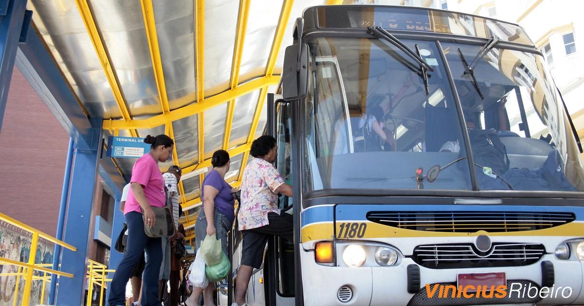 Transporte público: nos escondemos para não enfrentá-lo