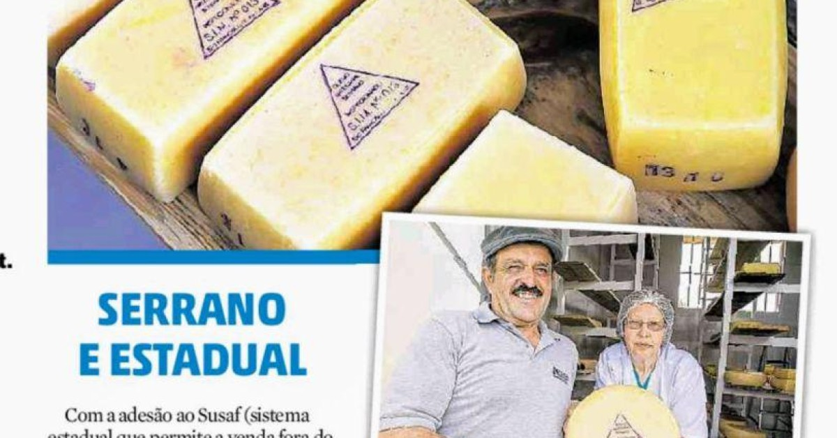 Avançam as ações sobre a economia regional e o queijo artesanal serrano