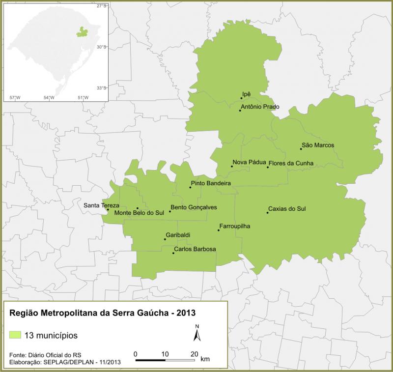 O que você precisa saber sobre os roteiros turísticos da Região Metropolitana da Serra Gaúcha