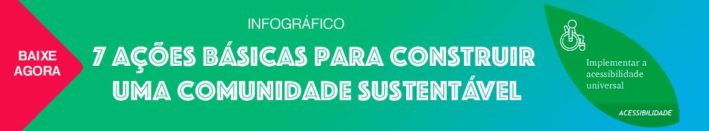 Acessibilidade na comunidade sustentável